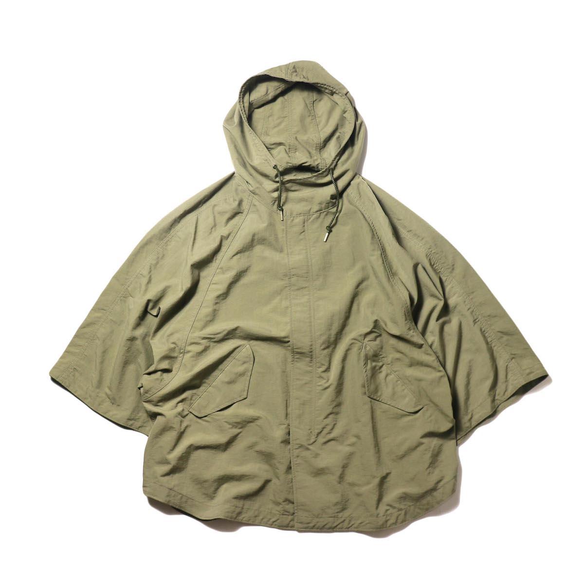 KHA:KI / TYPE-51 HOODED CAPE (khaki)