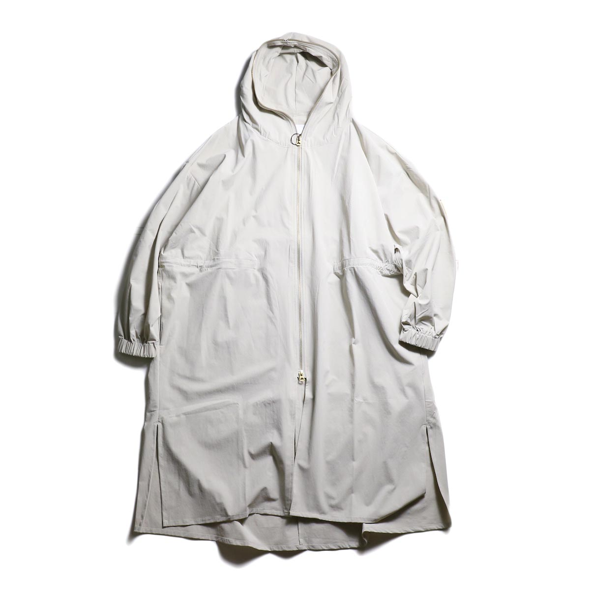 kha:ki /  ZIP HOODED COAT (GRAYGE)