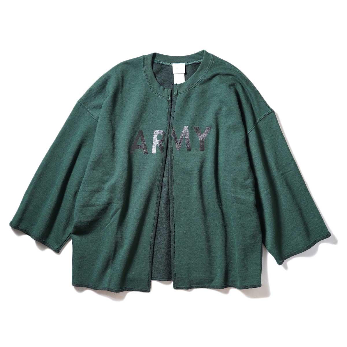 KHA:KI / REMAKE CARDIGAN (Green)