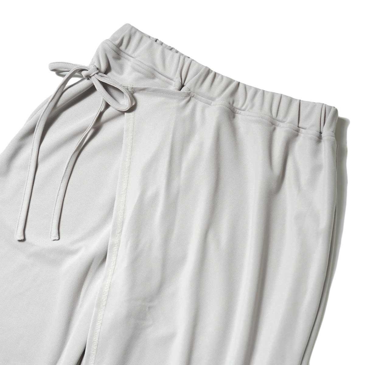 KHA:KI / SIDE WRAP PANTS (Grayge) ウエスト