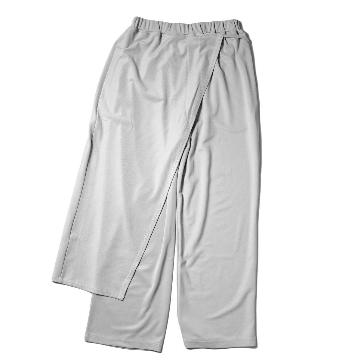 KHA:KI / SIDE WRAP PANTS (Grayge) 背面