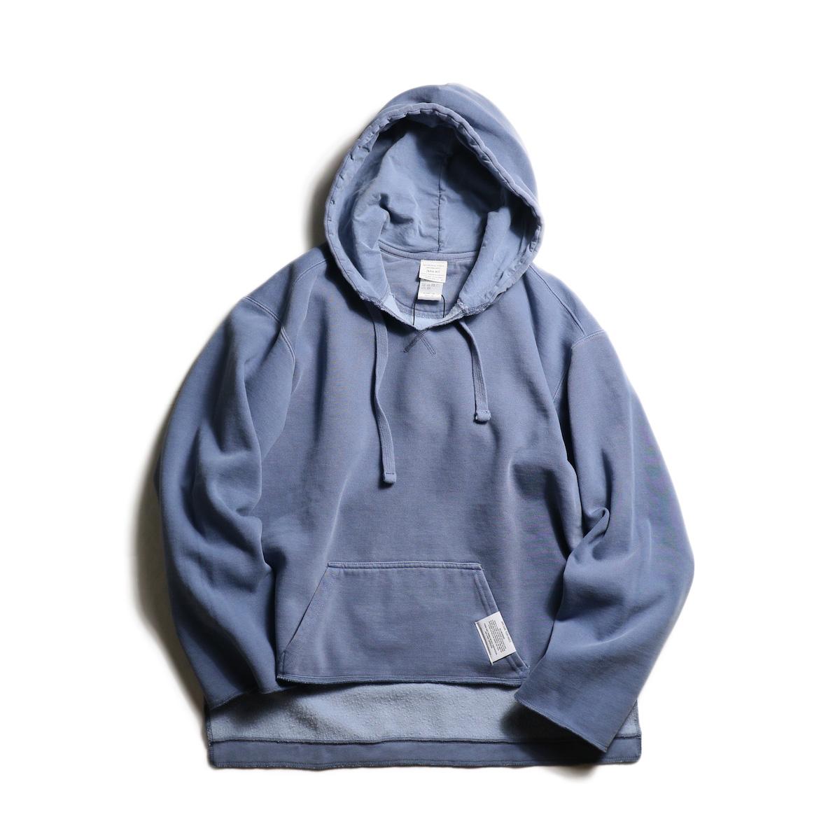 kha:ki / Pigment Remake P/O Hoodie (Vintage Blue)