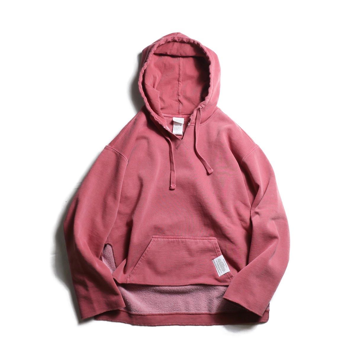 kha:ki / Pigment Remake P/O Hoodie (Vintage Red)