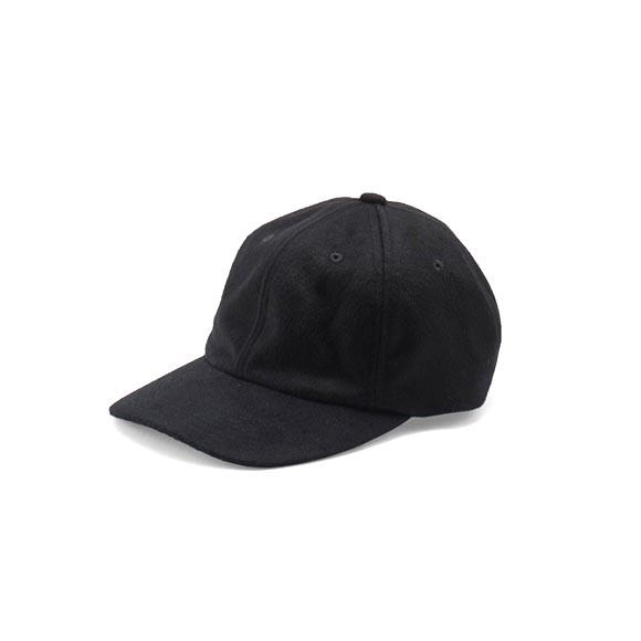 KIJIMA TAKAYUKI / Cashmere Baseball Cap (182815) -BLACK