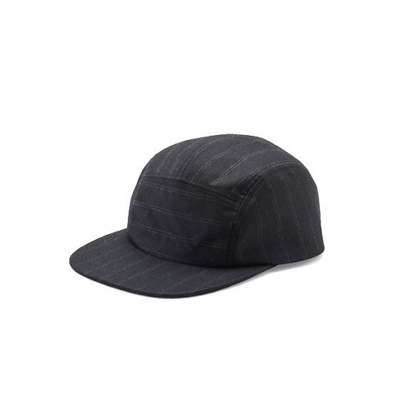 KIJIMA TAKAYUKI / Wool Jet Cap (182821) -BLACK