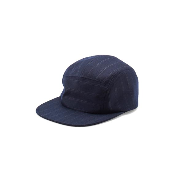 KIJIMA TAKAYUKI / Wool Jet Cap (182821) -NAVY