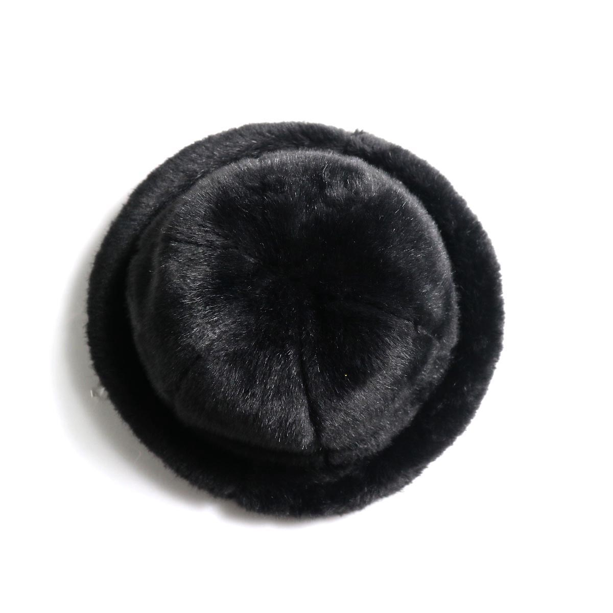 KIJIMA TAKAYUKI / Fake Fur 6 Panel Hat (No.182926) black 上