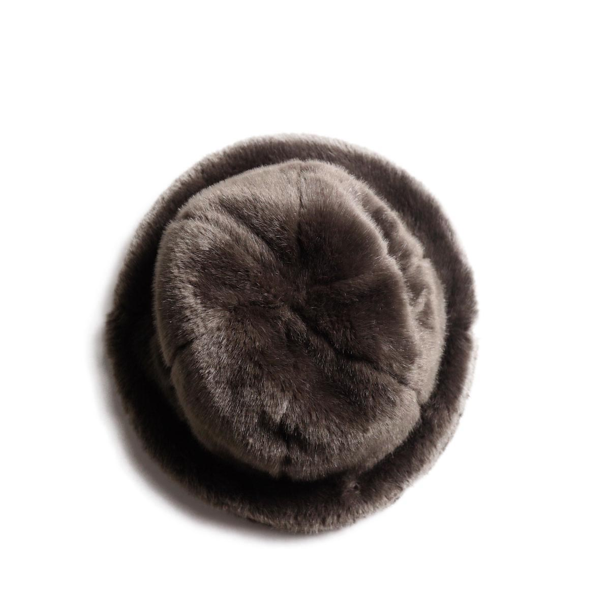 KIJIMA TAKAYUKI / Fake Fur 6 Panel Hat (No.182926) brown 上