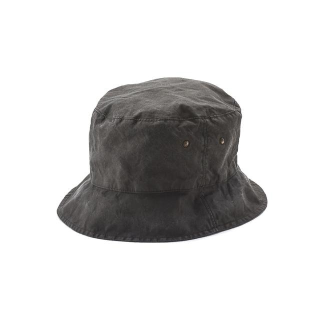 KIJIMA TAKAYUKI / SHORT BRIM BACKET HAT (KN-181109) -CH GRAY
