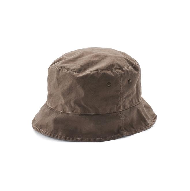KIJIMA TAKAYUKI / SHORT BRIM BACKET HAT (KN-181109) -GRAY
