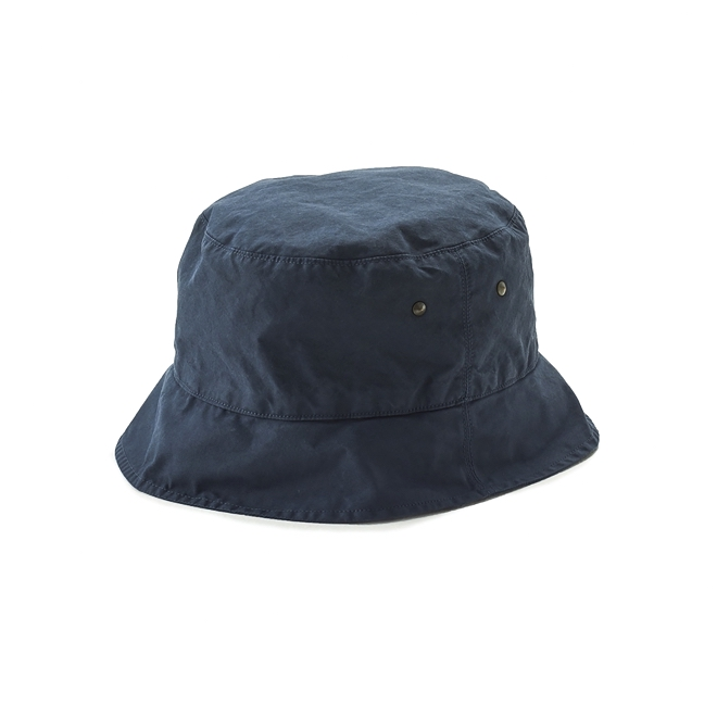 KIJIMA TAKAYUKI / SHORT BRIM BACKET HAT (KN-181109) -NAVY