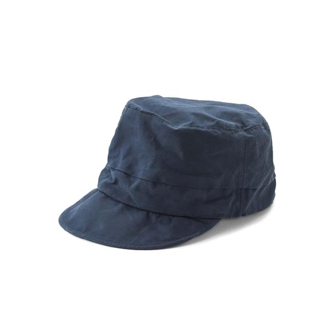KIJIMA TAKAYUKI / MARIN CAP (KN-181110) -NAVY