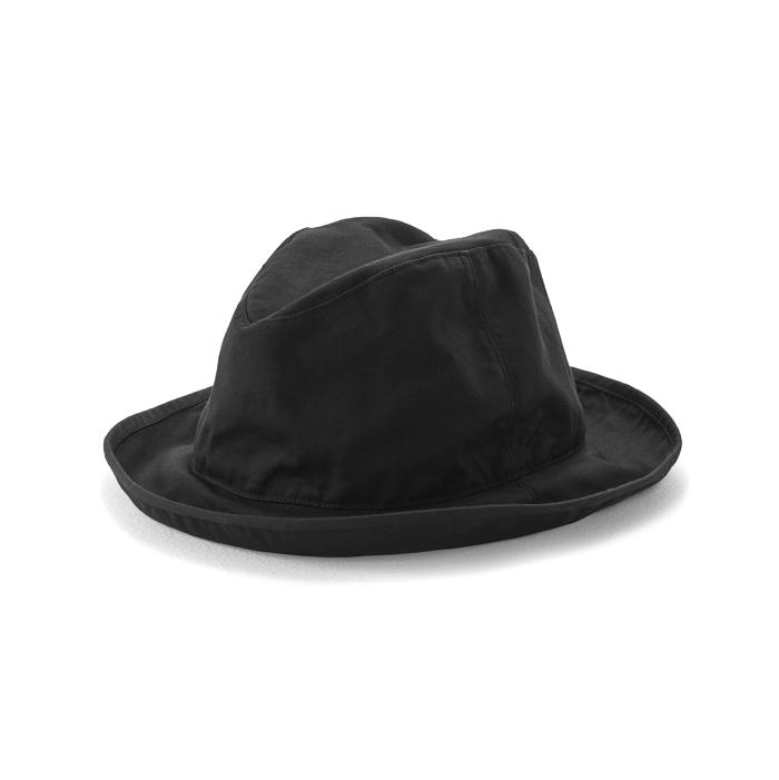 KIJIMA TAKAYUKI / TWILL HAT (KN-181217) -BLACK