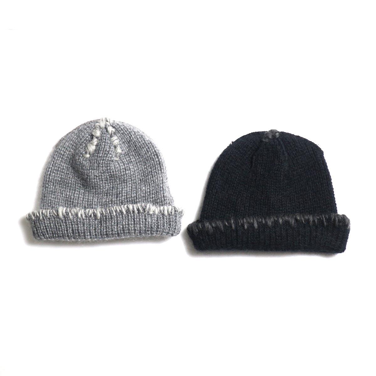 KIJIMA TAKAYUKI / Damage Knit Cap (KN182909)