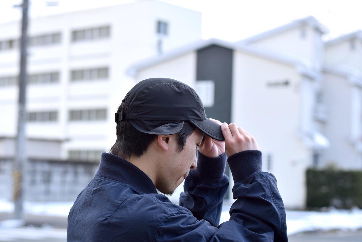 KIJIMA TAKAYUKI / Hunting Jet Cap (No.191113) 着用サイド