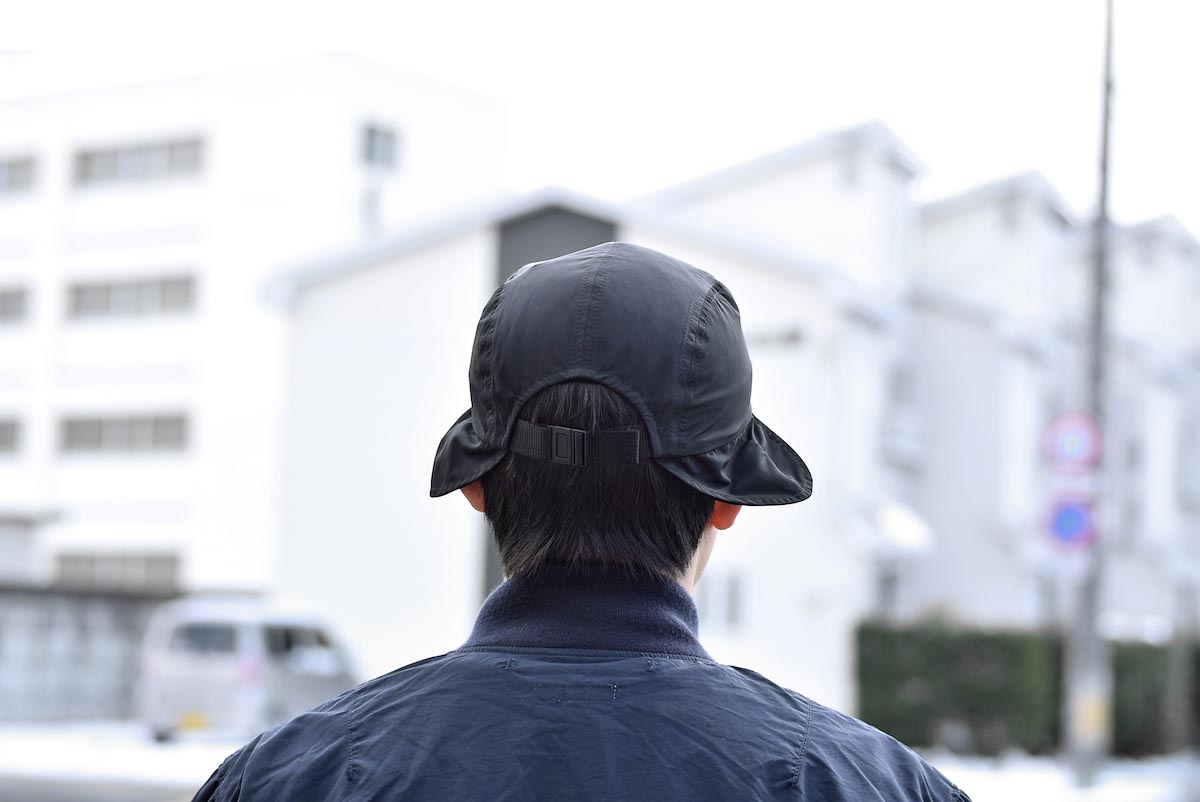 KIJIMA TAKAYUKI / Hunting Jet Cap (No.191113) 着用バック
