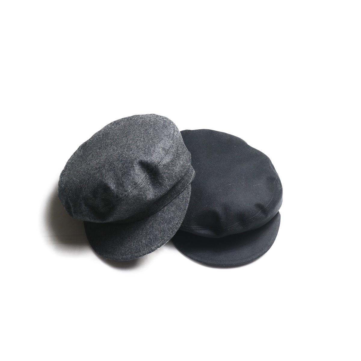 KIJIMA TAKAYUKI / Wool Marine Cap (No.192833)