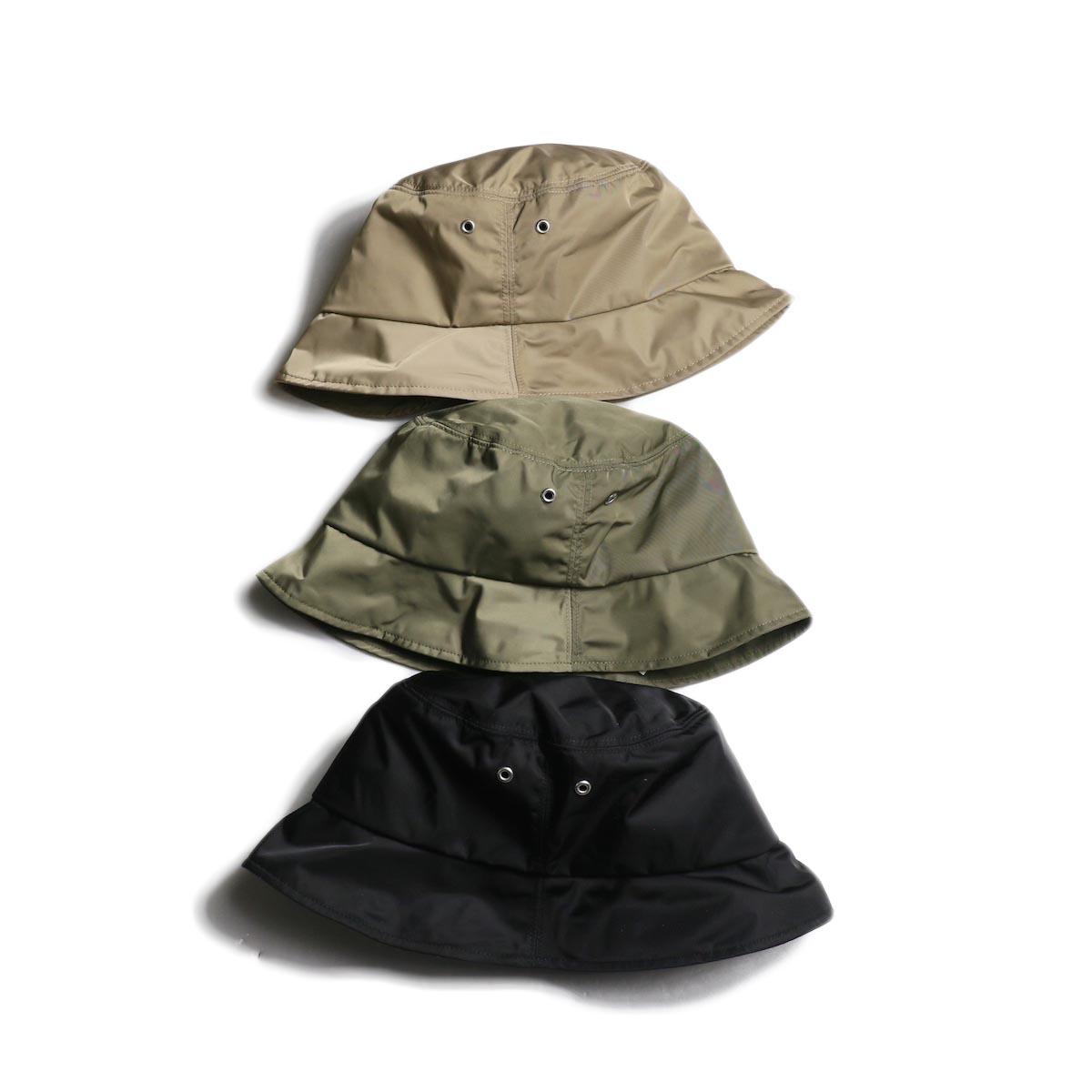 KIJIMA TAKAYUKI / Polyester Twill Bucket Hat (No.201002)
