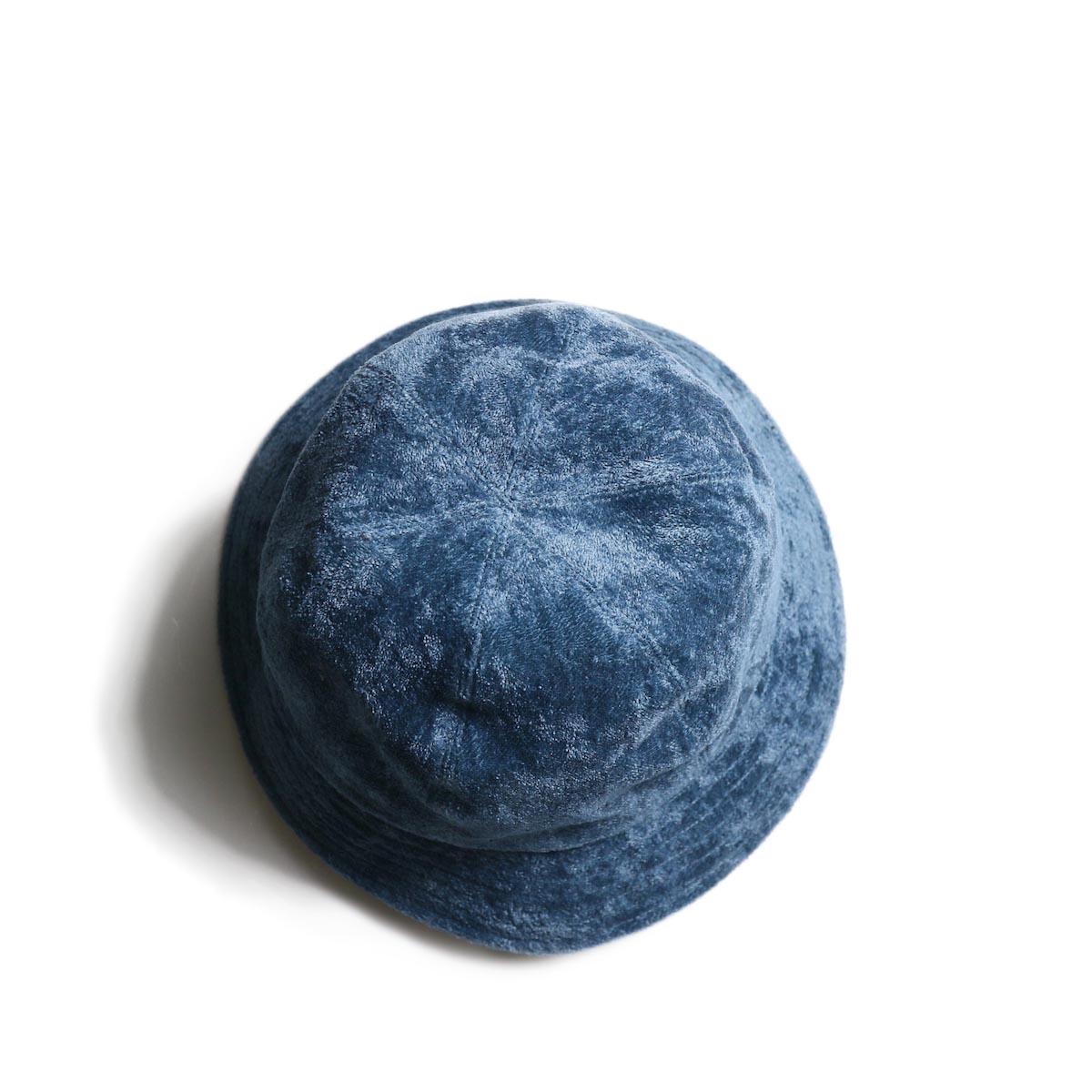 KIJIMA TAKAYUKI / Linen Pile Hat (No.201215)Blue