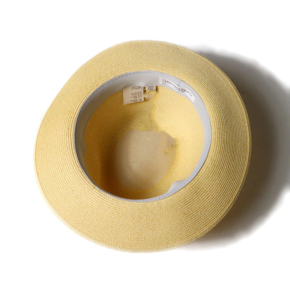 KIJIMA TAKAYUKI / Paper Hat (E-211004)beige 内側