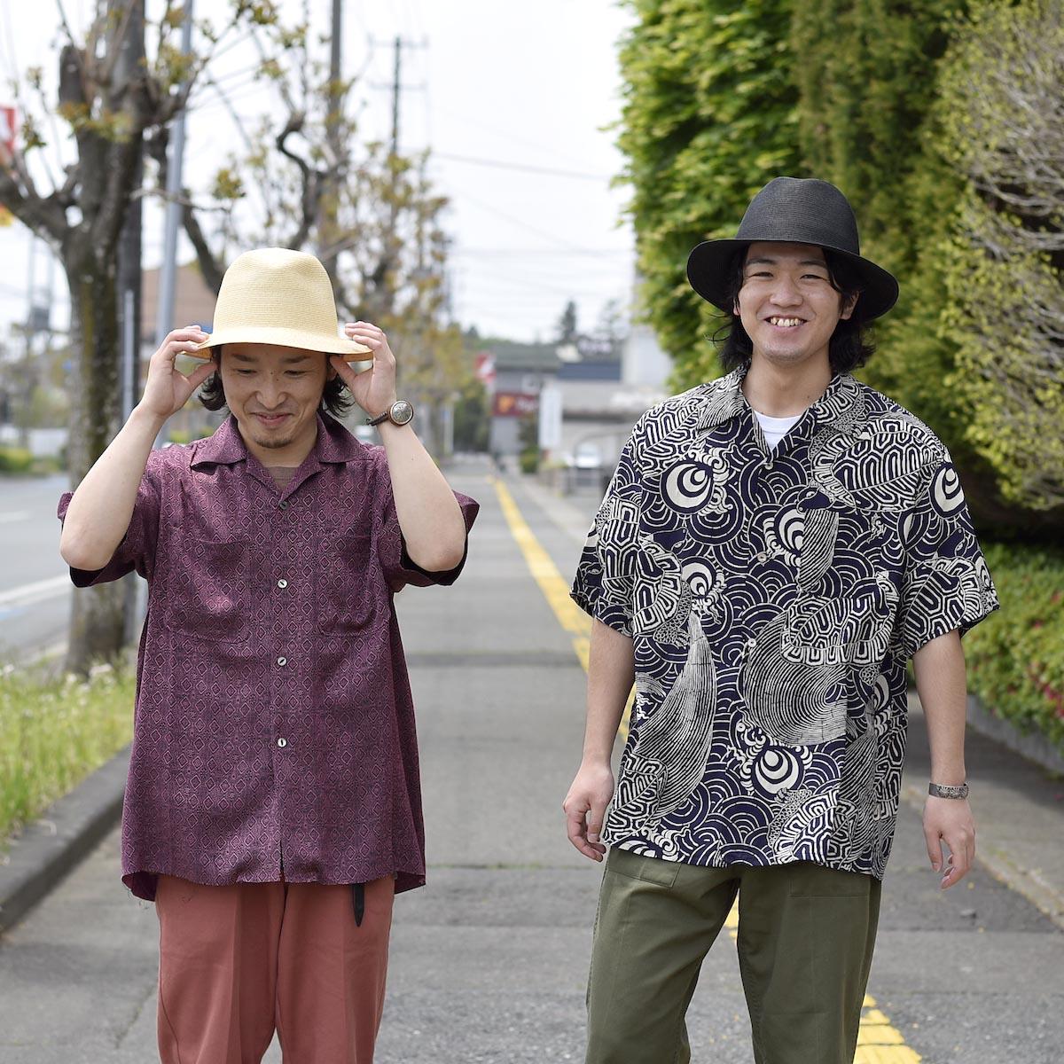 KIJIMA TAKAYUKI / Paper Hat (E-211004) 着用イメージ