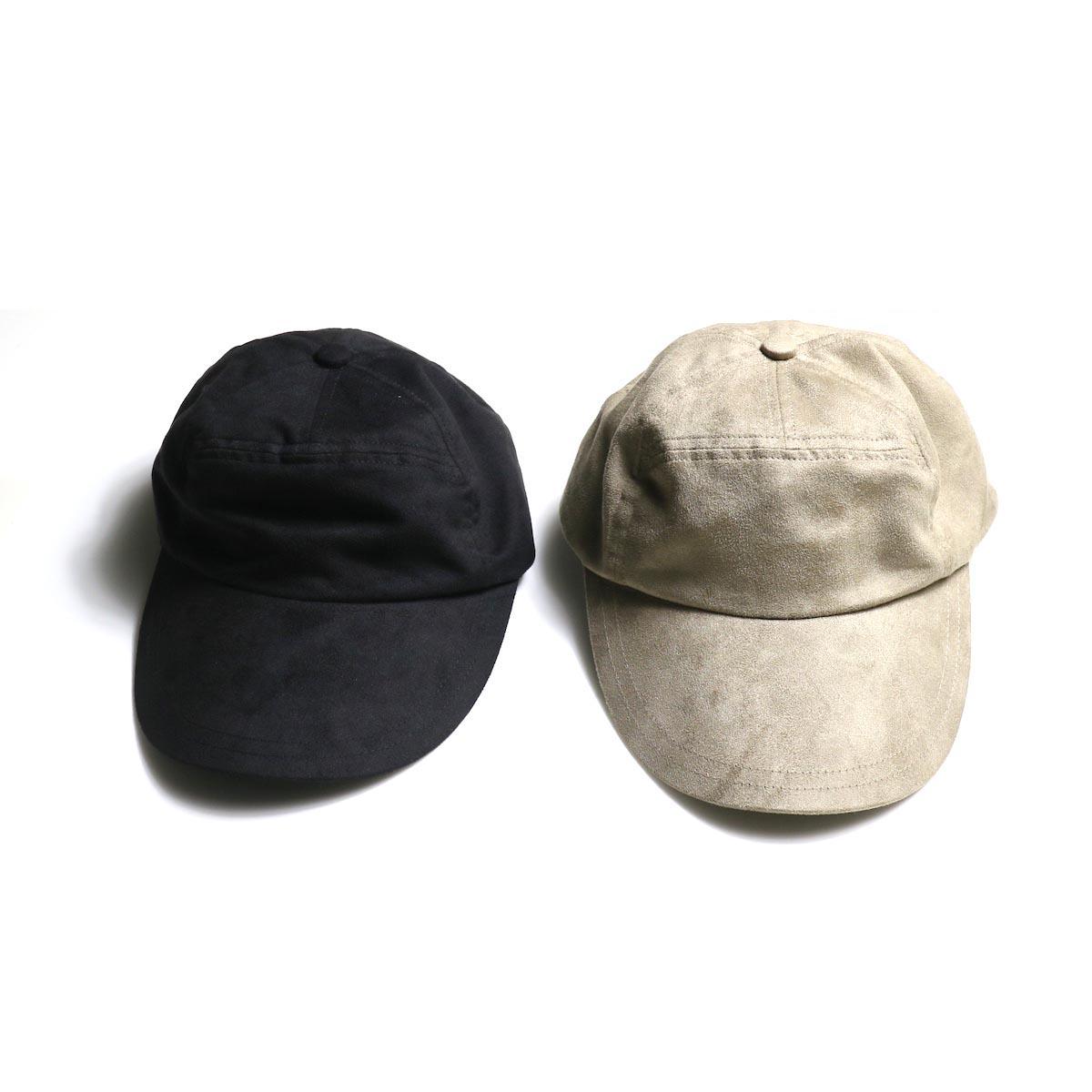 KIJIMA TAKAYUKI / Micro suede 7P Cap (No.W-201134)2色