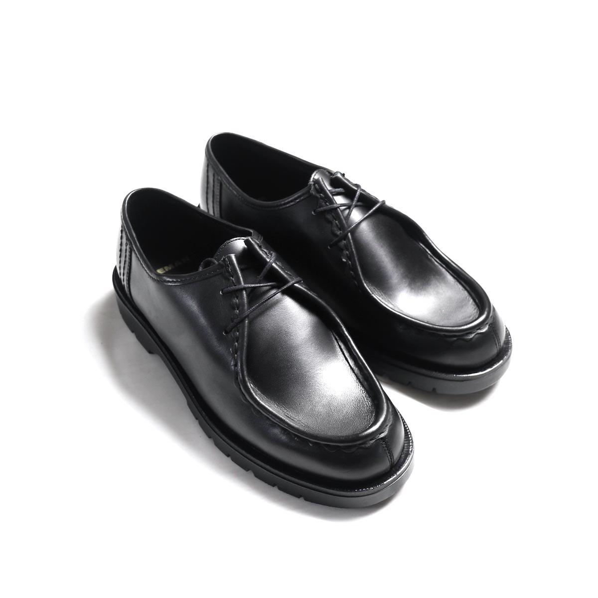 """KLEMAN / """"PADRE"""" Tyrolean shoes -NOIR"""