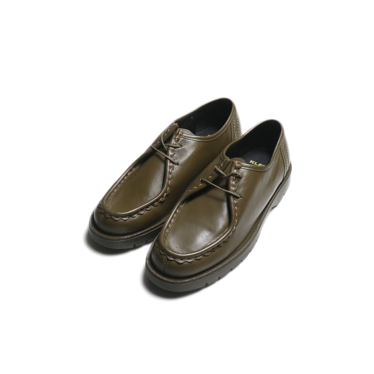"""KLEMAN / """"PADRE"""" Tyrolean Shoes (Taupe)"""