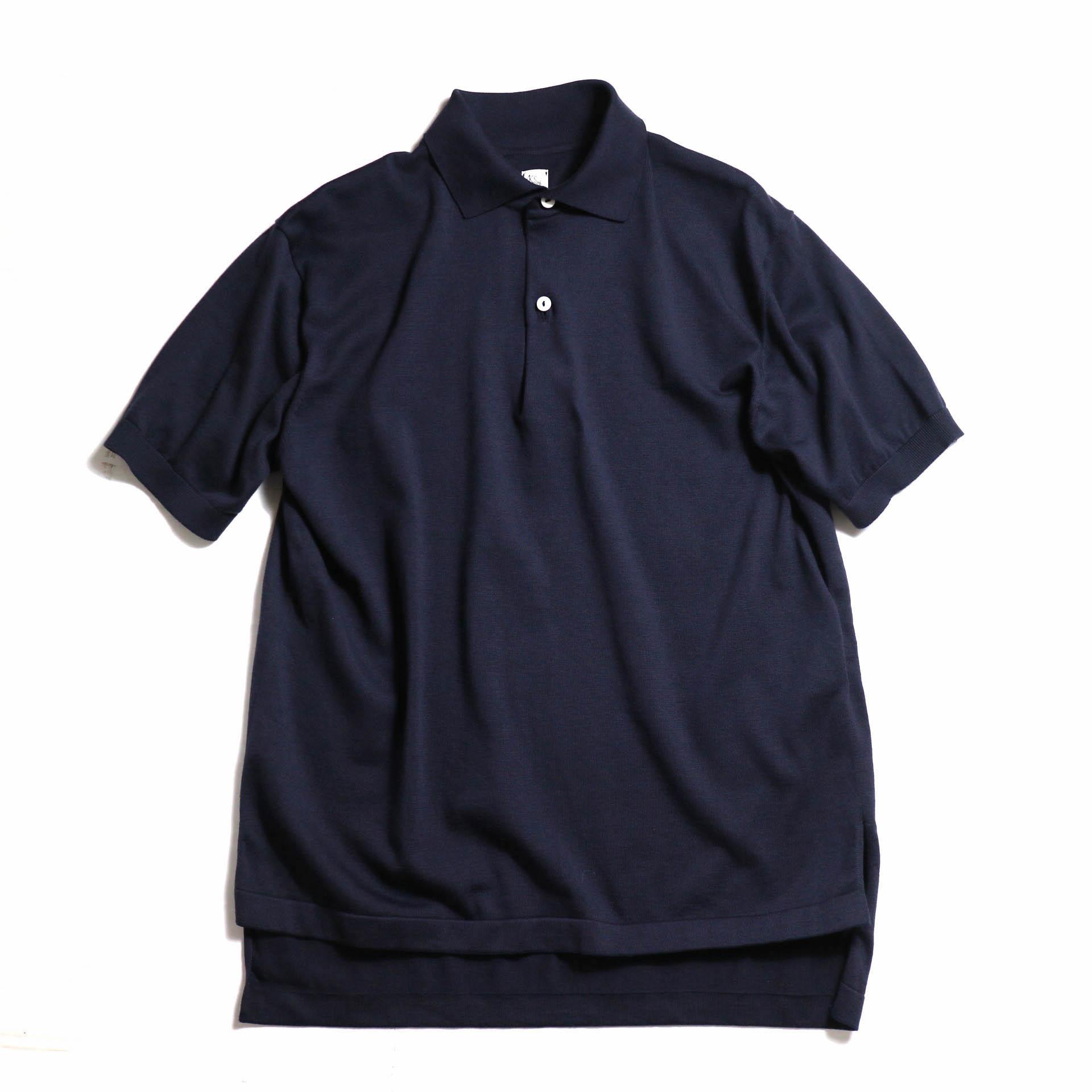 Kaptain Sunshine / Knit Polo Collar Shirt