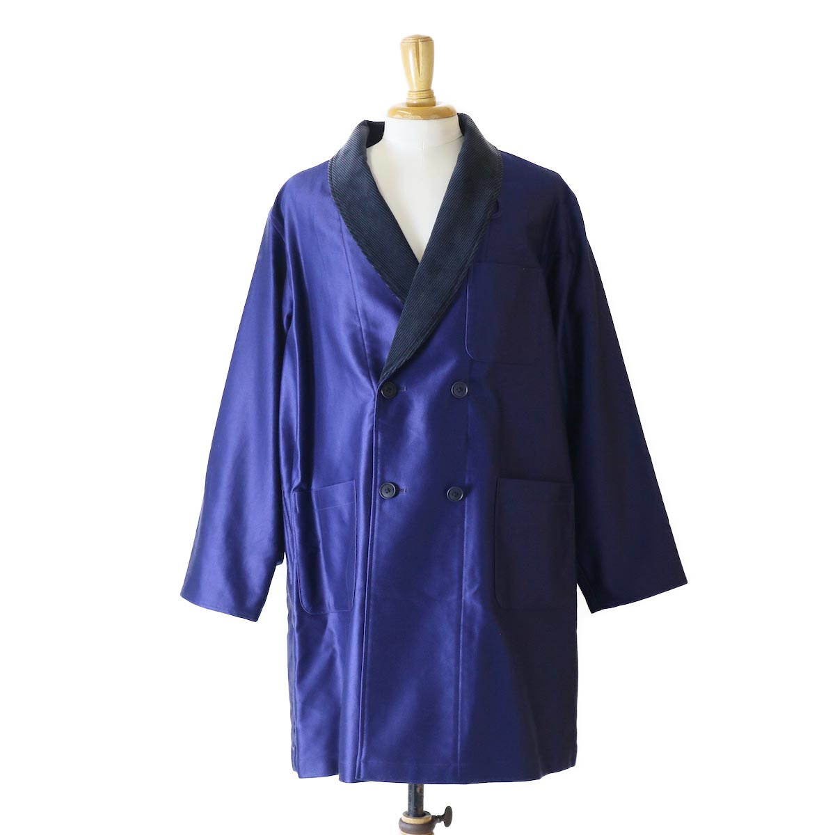Kaptain Sunshine / Sleeping Half Coat -FRENCH BLUE
