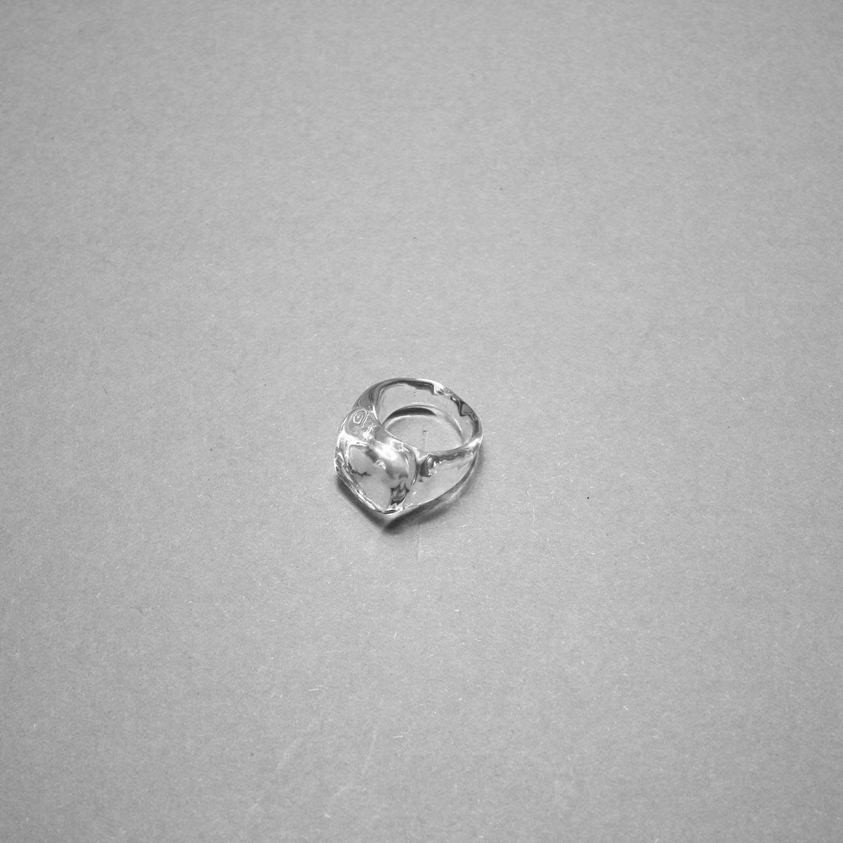 LAN / glass ring square ring ①