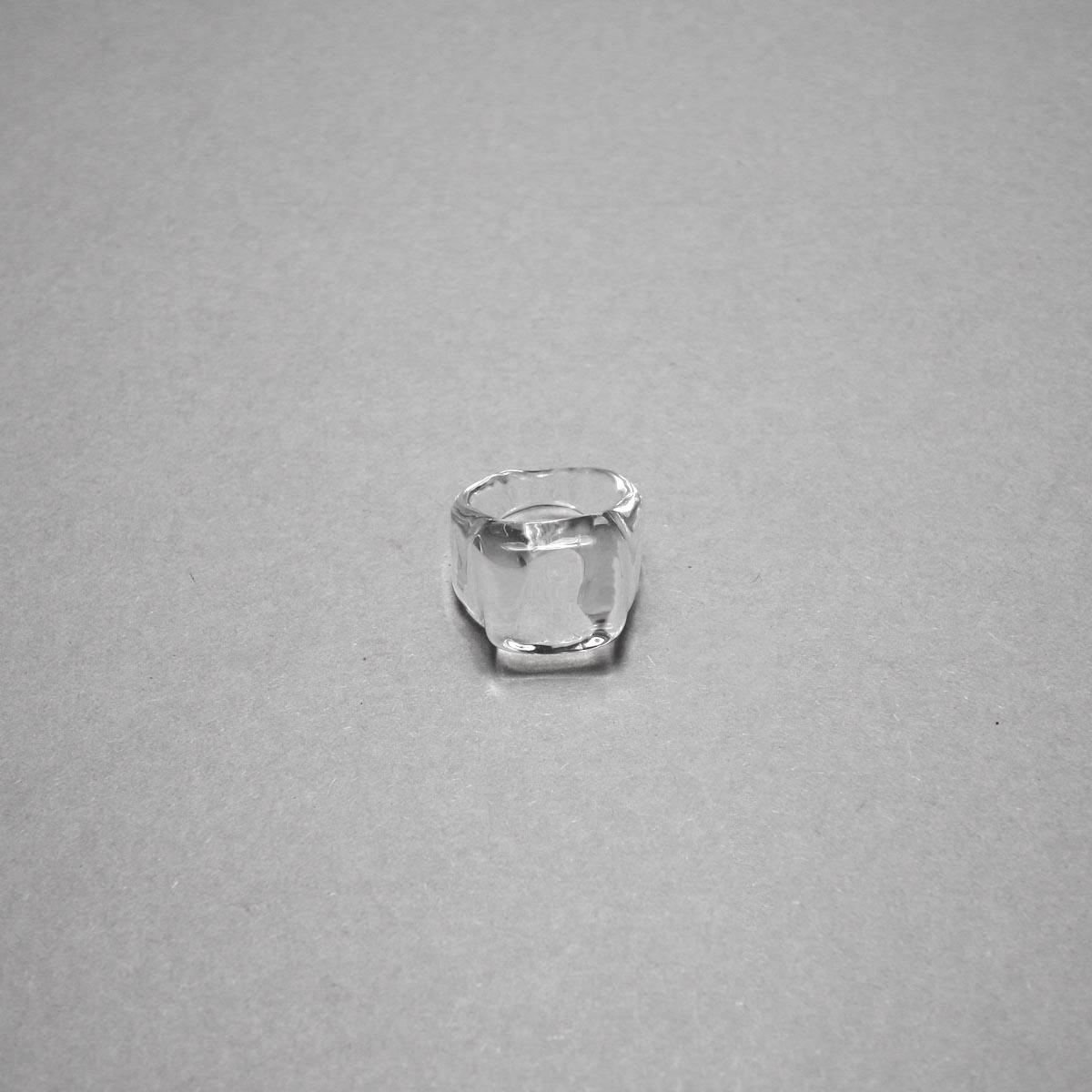LAN / glass ring square ring ②