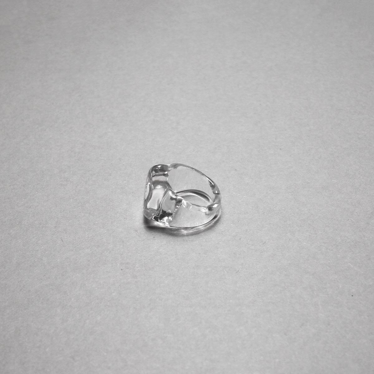 LAN / glass ring square ring ③