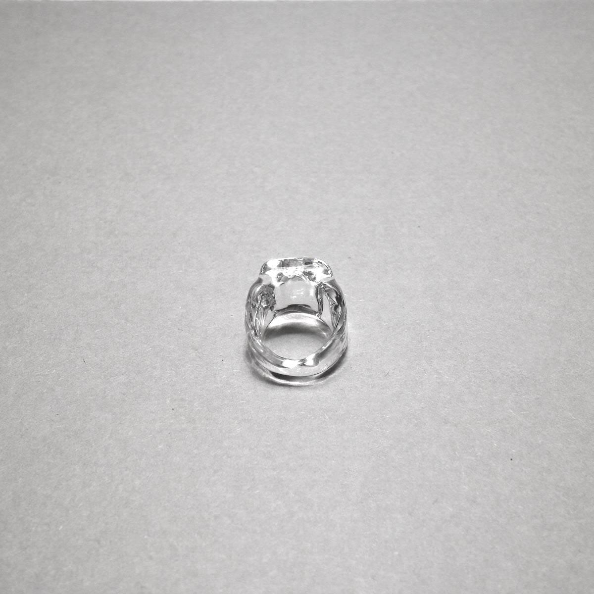 LAN / glass ring square ring ④