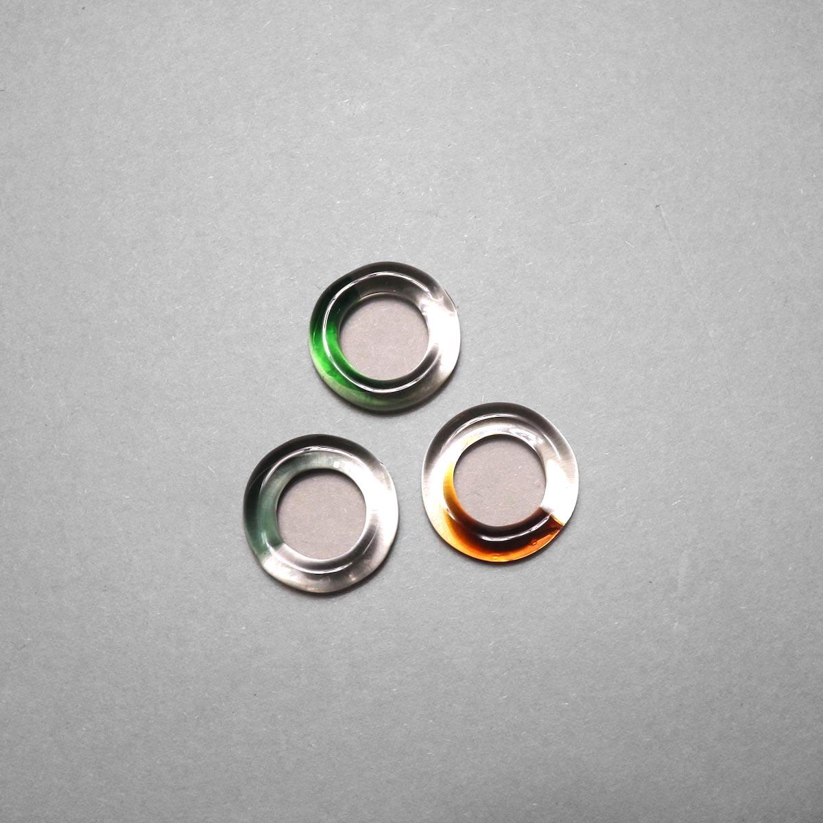 LAN / glass ring gradation 比較①