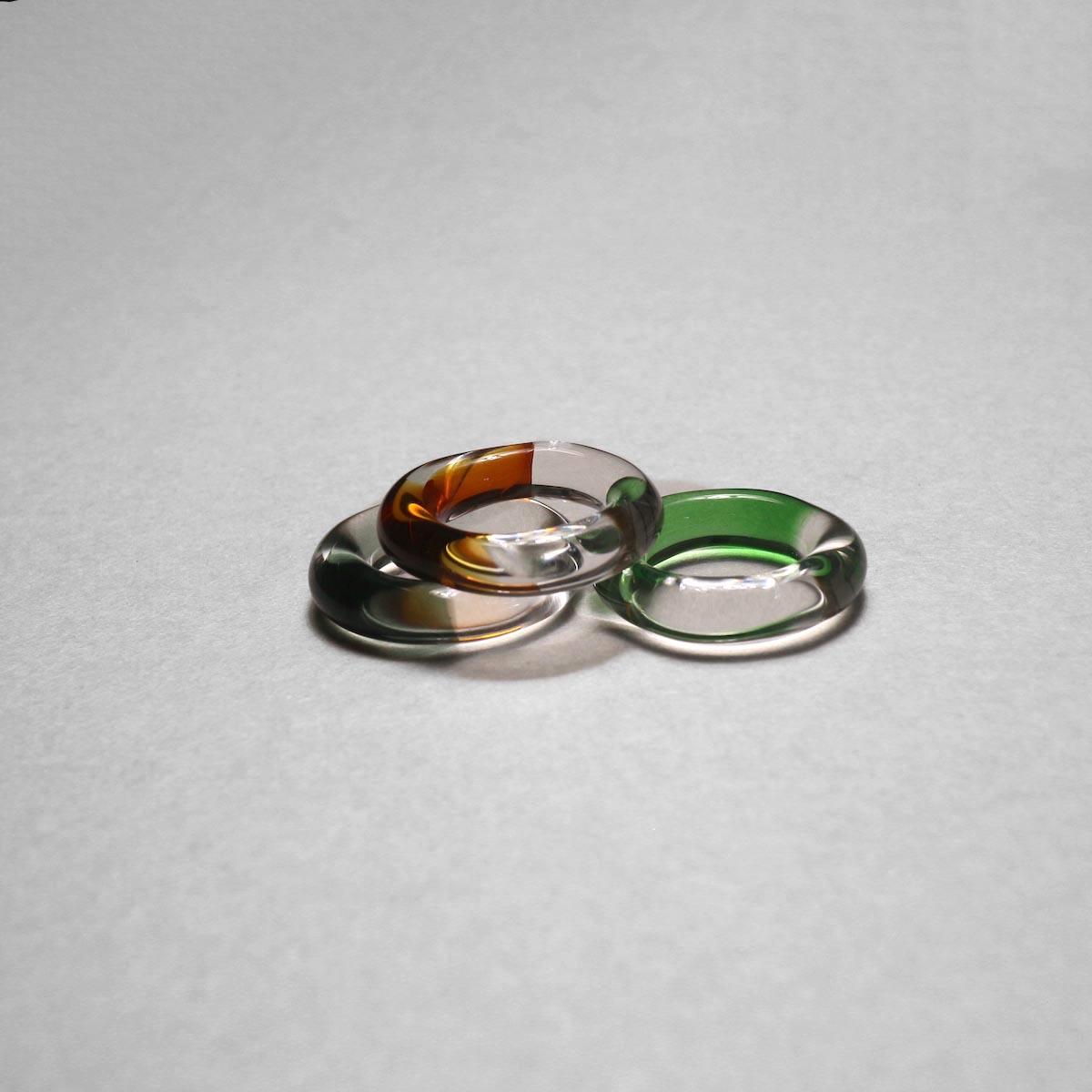 LAN / glass ring gradation 比較③