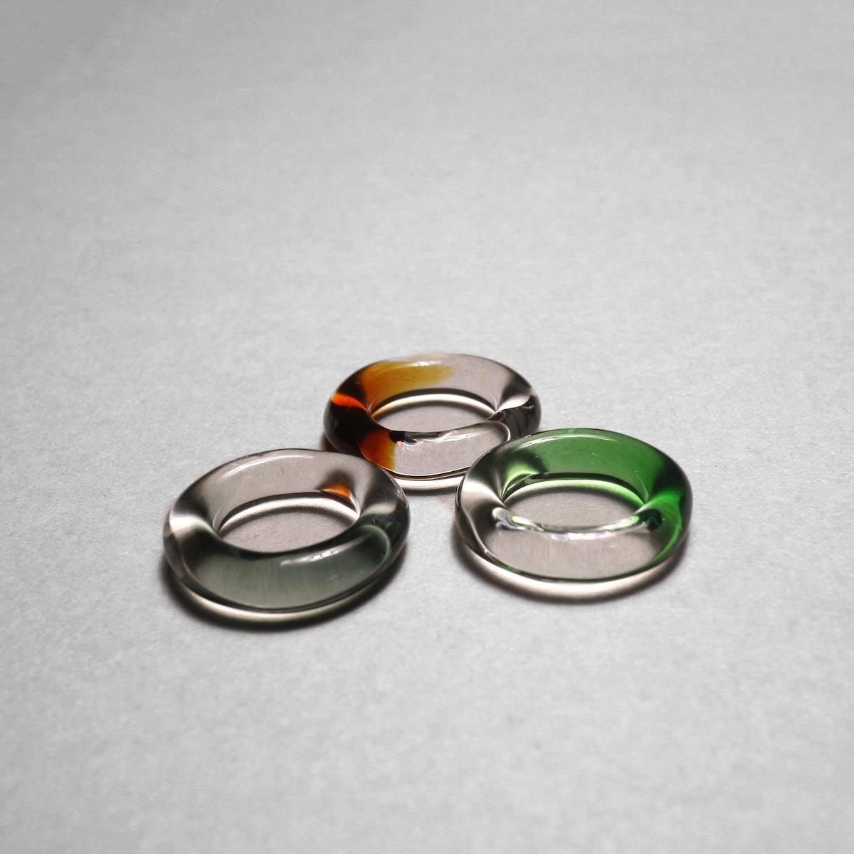 LAN / glass ring gradation 比較②