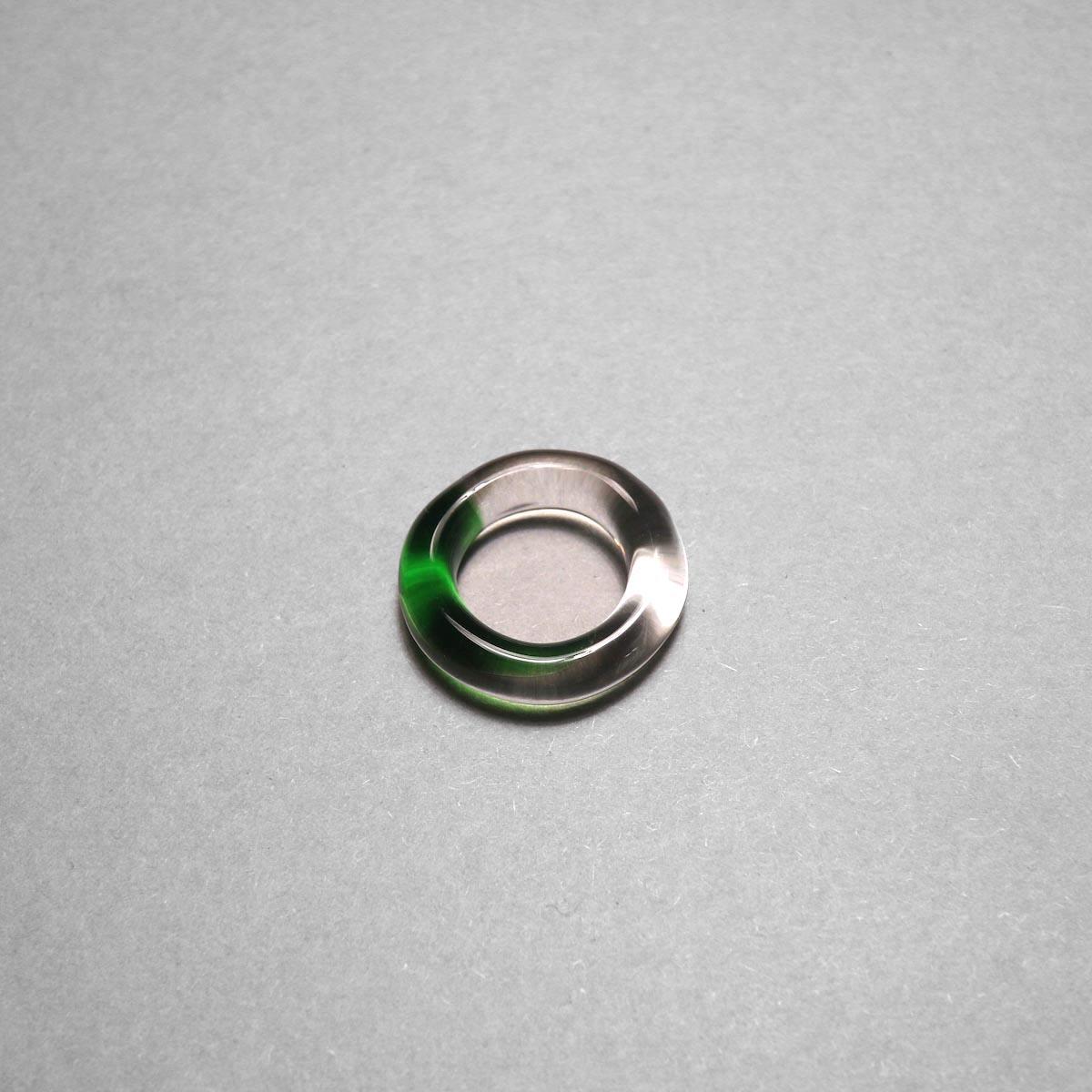 LAN / glass ring gradation (green)