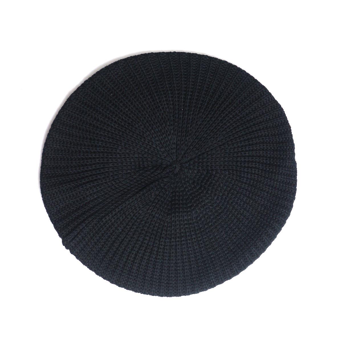 LEUCHTFEUER / BIG HOOGE -Cotton×Acrylic (Black)