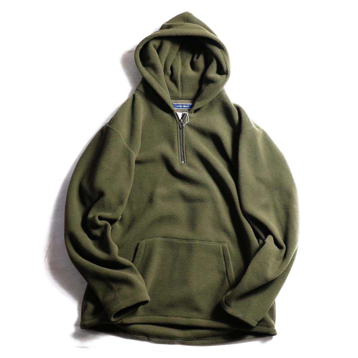 Living Concept / BOA FLEECE PARKA -Olive