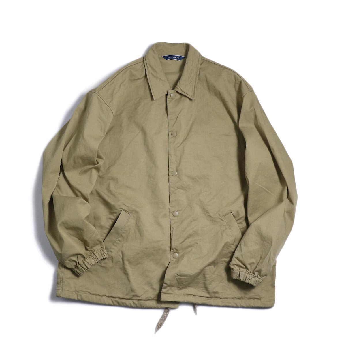 Living Concept / Coach Jacket -Beige