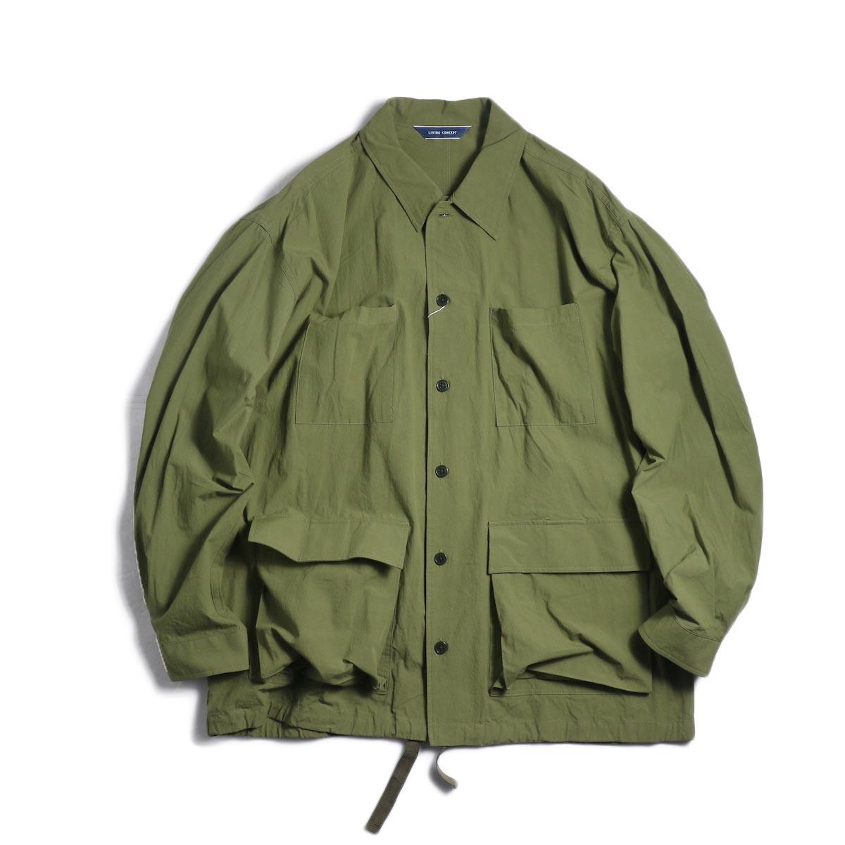 Living Concept / BDU Jacket -Olive