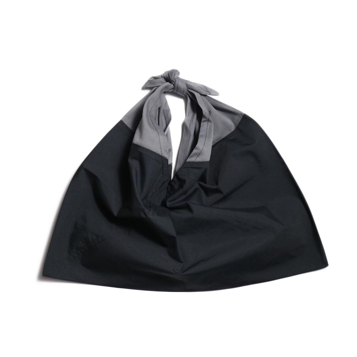 LIVING CONCEPT / AZUMA BAG (SMALL) -BLACK × GRAY
