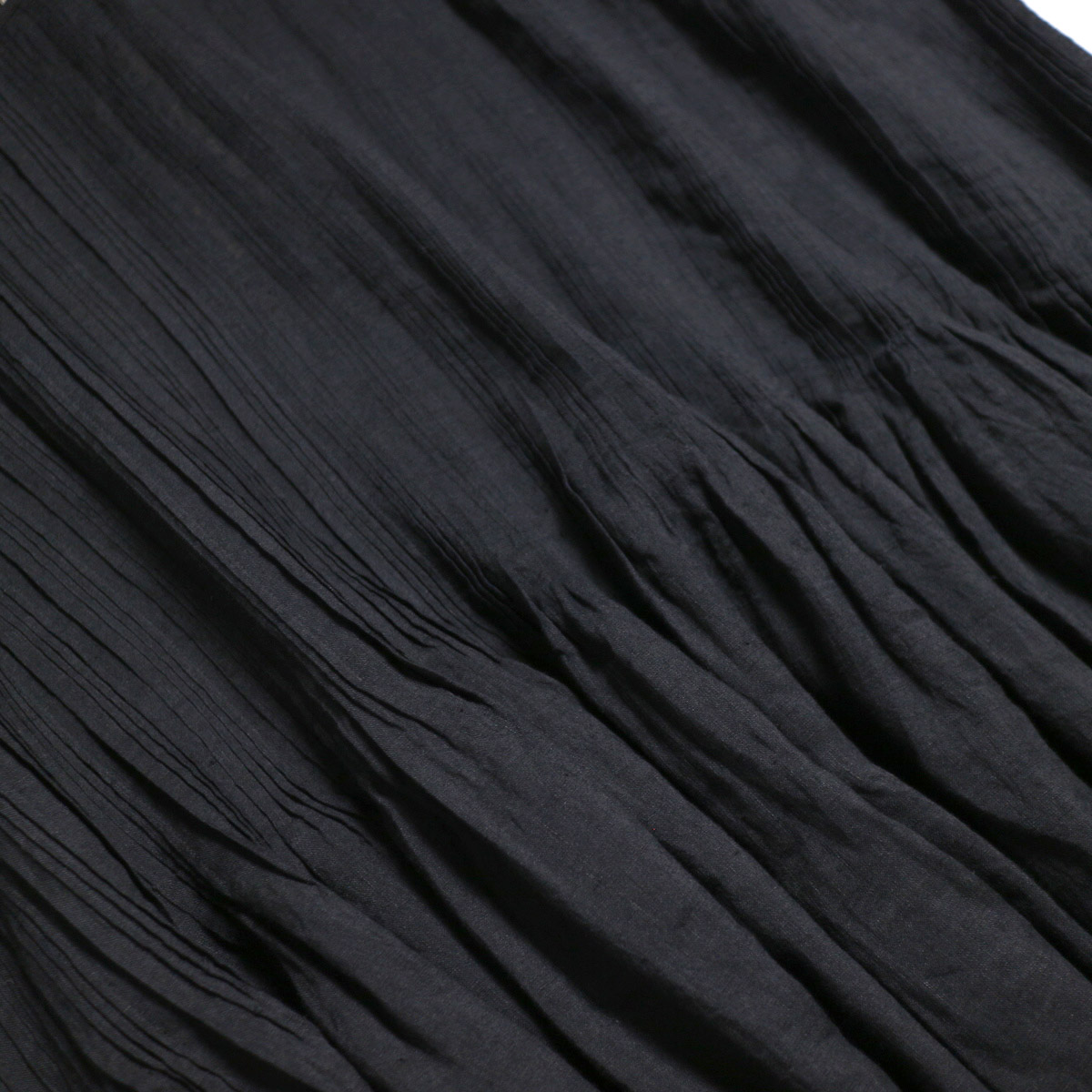 maison de soil / Pandom Pleats Dress -Black プリーツ