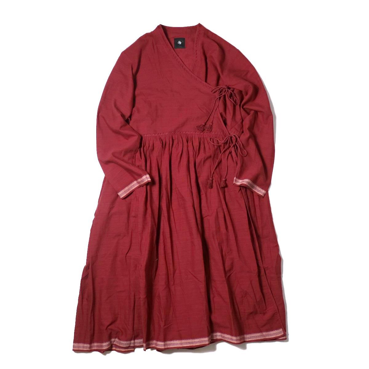 maison de soil /  CACHE COEUR DRESS (deep red)
