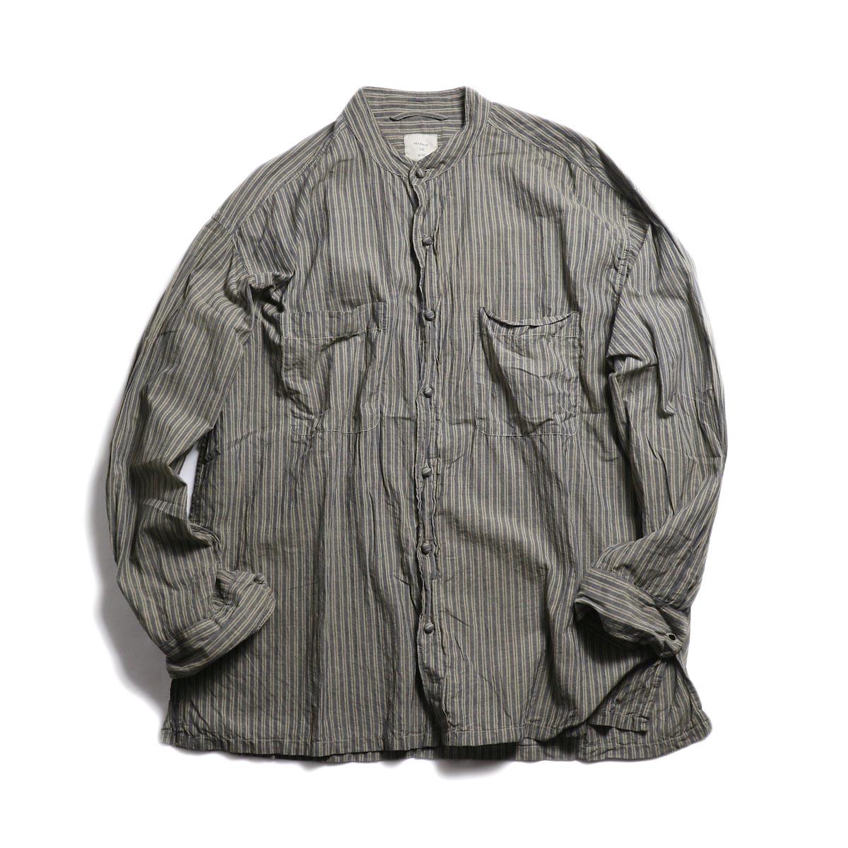 maison de soil homme / Stripe MDS Jacket -Beige