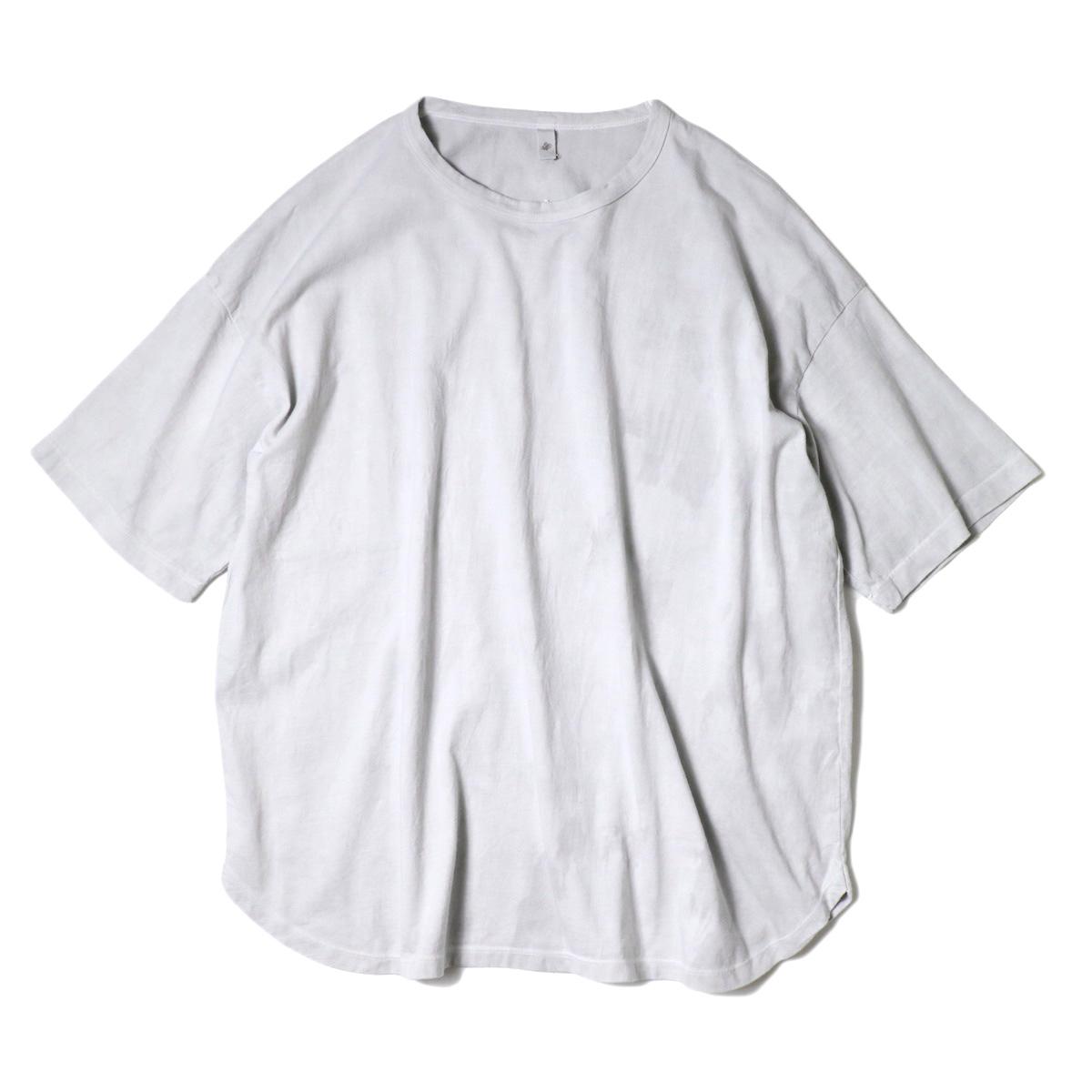 maison de soil / Cotton Jersey Crew-Neck T-Shirt (L.Grey)