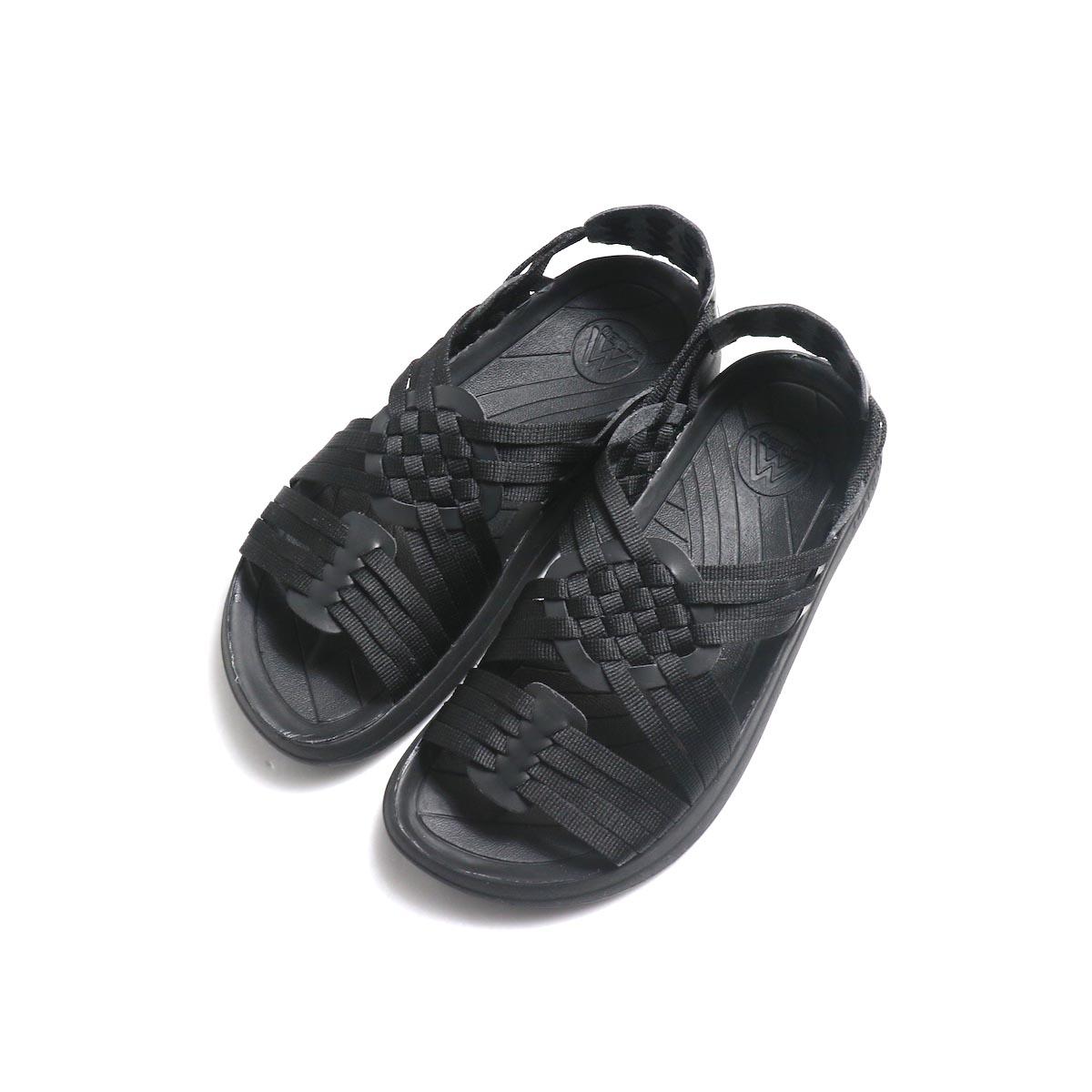 Malibu Sandals / Canyon (Nylon Weave) -Black 正面