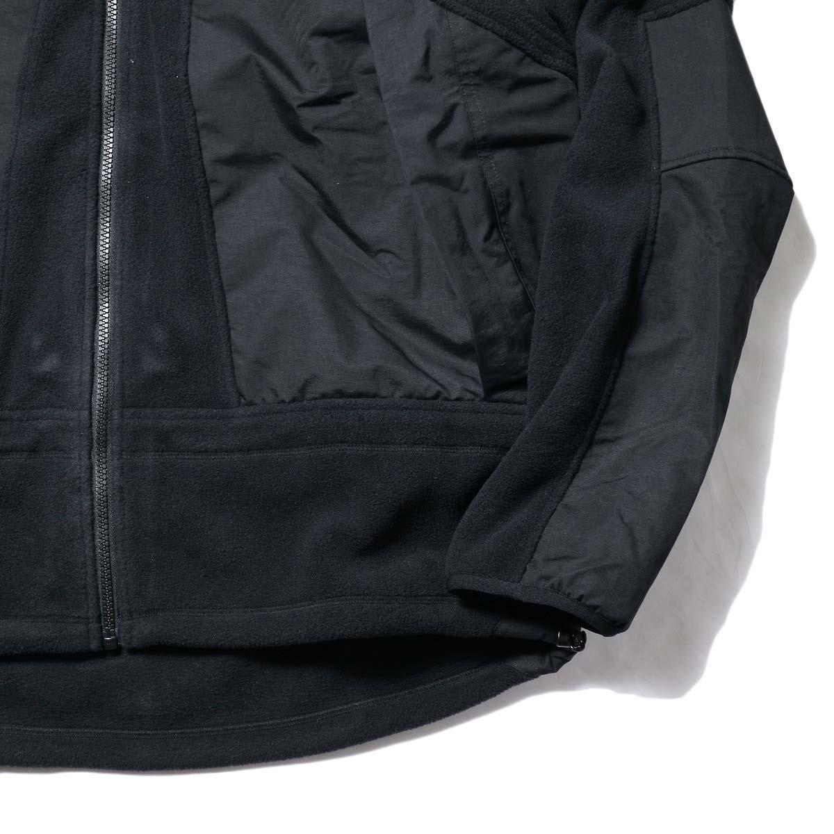 Marmot Histric Collection / Alpinist Tech Sweater (Black×Black)袖、裾