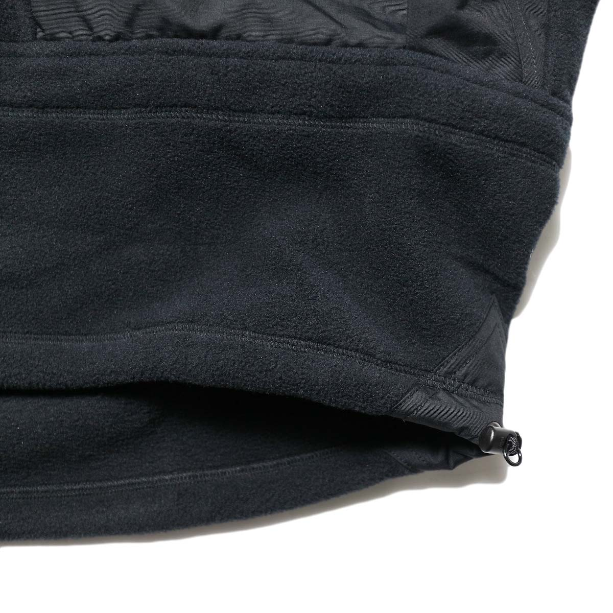 Marmot Histric Collection / Alpinist Tech Sweater (Black×Black)裾スピンドル